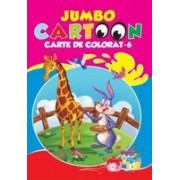 Jumbo Cartoon - carte de colorat 6