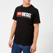 Diesel Men's Just Division Logo T-Shirt - Black - L