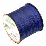 4,0 # 0.34mm 45lb 18.1kg Tensión 500m Extra Fuerte 4 Acciones Braid PE Línea De Pesca Kite Línea (azul Oscuro)