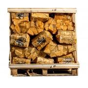 44 zakken gedroogd eikenhout a 8 kg
