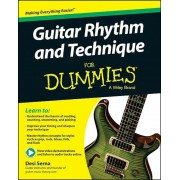 Guitar Rhythm and Technique for Dummies, Book + Online Video & Audio Instruction, Paperback