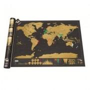 geschenkidee.ch Scratch Weltkarte Deluxe Edition