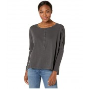 ToadCo Primo Henley Long Sleeve Soot