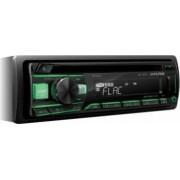 Player Auto Alpine CDE-201R 4X50W Aux-In CD USB Subwoofer control Rosu/Verde