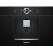 Espressor incorporabil Bosch CTL636EB6,19 bar, 1600 W, 2.4 l, Display TFT, Touch control, Spumare lapte, Home Connect, Negru