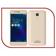 Сотовый телефон ASUS ZenFone 3 Max ZC520TL 16Gb Gold