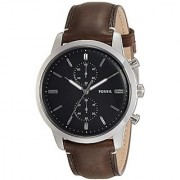 Fossil Chronograph Black Dial Mens Watch-FS5280I