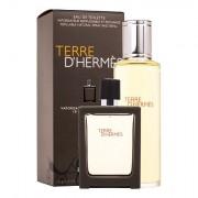 Hermes Terre D´Hermès confezione regalo Eau de Toilette 30 ml + Eau de Toilette ricarica 125 ml da uomo