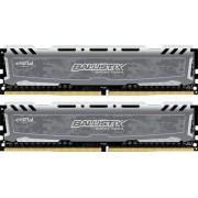 Crucial 16 GB DDR4-RAM - 2400MHz - (BLS2C8G4D240FSB) Crucial Ballistix Sport LT Kit CL16