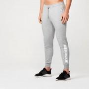 Myprotein Spodnie Sportowe z logo - S - Szary Melanż