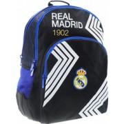 Ghiozdan scoala ergonomic FC Real Madrid 1902 cu 2 compartimente 45 cm
