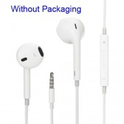 Casti Handsfree iPhone 5c Cu Microfon Albe