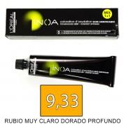 Loreal INOA 9,33 Rubio Muy Claro Dorado Prof - tinte 60grs