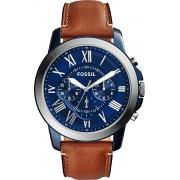 Fossil Blauw Mannen Horloge FS5151