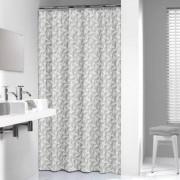 Douche Concurrent Douchegordijn Textiel Sealskin Piega Polyester Grijs 180x200cm