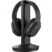Sony MDR-RF895RK bežični tv over ear slušalice preko ušiju kontrola glasnoće, poništavanje buke crna
