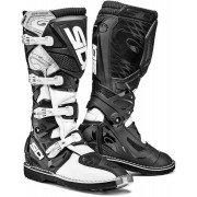 Sidi X-Treme Offroad Boots Black White 40