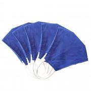 MASQUES DIRECT 5 Masques pour enfants ergonomiques en tissu lavable bleu