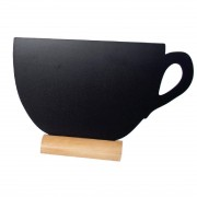 Securit Mini Cup Shaped Blackboards (Pack of 3)