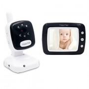 Baby Monitor Smart SI-LiveSmart SM36, model 2019, WI-FI 2,4Ghz, Talk-Back, Activare Vocala, Cantece Leagan incorporate