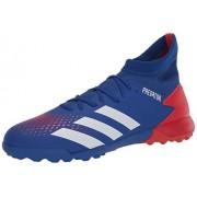 Adidas Predator 20.3 Turf Zapatillas de fútbol para Hombre, Equipo Royal Azul/FTWR Blanco/Active Rojo, 8.5 US