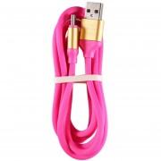 EW Resistente diseño de color brillante de 1,2 m de largo tipo-C Micro USB Cargador Cable de datos