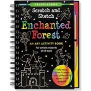 Enchanted Forest Scratch and Sketch: An Art Activity Book for Artistic Wizards of All Ages, Hardcover/Lee &. Tom Nemmers
