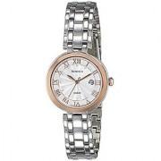 Casio Quartz White Round Women Watch SHE-4033SG-7AUDR(SX173)