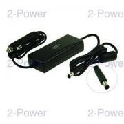 2-Power Bil-Flyg DC Adapter HP 18.5V 3.5A 65W (Pin/Smart)