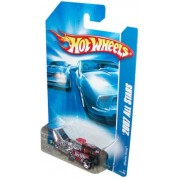 Mattel Hot Wheels 2007 All Stars Series 1:64 Scale Die Cast Metal Car # 147 Of 180 Future 3 Wheels Drag Racing Car Whatta Drag With Fun Facts # 147