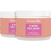 TummyTox K-WOW Gesichtsmaske 1+1 GRATIS