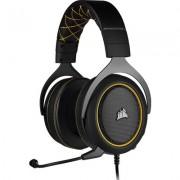 Геймърски слушалки Corsair HS60 PRO SURROUND Yellow