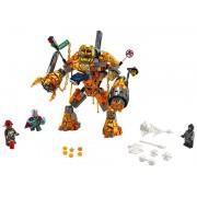 Lego Batalla contra Molten Man
