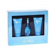 Davidoff Cool Water confezione regalo Eau de Toilette 30 ml + 50 ml doccia gel + 50 ml lozione per il corpo Donna