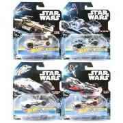 Mattel modellini macchinine spaziali hot wheels star wars. assortiti (no scelta)