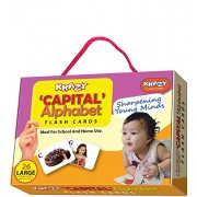 Krazy Capital Alphabets - Flash Cards