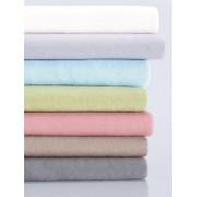 Schlafgut Bio-Feinjersey-Spannbetttuch Organic Cotton Schlafgut silber