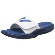 adidas Men's Alphabounce Slide Ftwwht, Corblu and Mysblu Flip-Flops and House Slippers - 7 UK/India (40.67 EU)