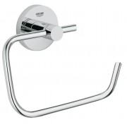Suport hartie igienica Essentials,prindere perete,crom-40689001