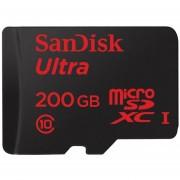 Sandisk SDSDQUAN-200G 200GB Sandisk Con Adaptador De Tarjeta