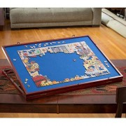 Bits and Pieces - Puzzle Expert Tabletop Easel Non-Slip Felt Work Surface Table Accessory to Put Together Your Jigsaws
