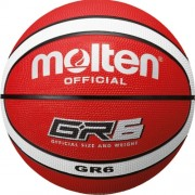 molten Basketball BGR6-RW (Indoor/Outdoor) - rot/weiß | 6