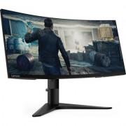 """PROMO! Lenovo G34w-10 34"""" QHD VA WLED (3440 x 1440) 1500R Curved Gaming Monitor, 178/178, 4ms, 350cd/m2, 109 dpi, 144 Hz, 3"""