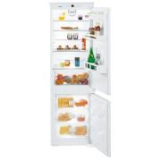 Combină frigorifică încorporabilă Liebherr ICNS 3324, 256 L, NoFrost, Siguranţă copii, SuperFrost, Display, Control taste, H 178 cm, Clasa A++