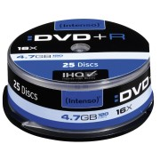 DVD+R4,7 INT25 - Intenso DVD+R 4,7GB, 25-er CakeBox