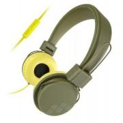 Meliconi Cuffie con microfono Meliconi HP Speak Street Verde Militare G
