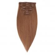 Rapunzel® Extensions Naturali Kit Clip-on Original 7 pezzi 5.1 Medium Ash Brown 30 cm
