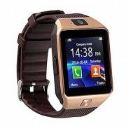 DZ09 Bluetooth Camera Built-in Unlocked Support sim Card SD Card 16Gb Smartwatch (Gold)