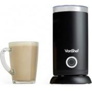 Aparat preparare spuma lapte VonShef 2000116, Capacitate 300 ml, 3 Functii, Spuma Calda, Spuma Rece, Lapte cald