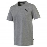 Puma T-Shirt mit Logo-Print, runder Ausschnitt